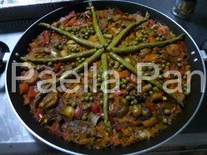 Paella Vegetariana en Panamá