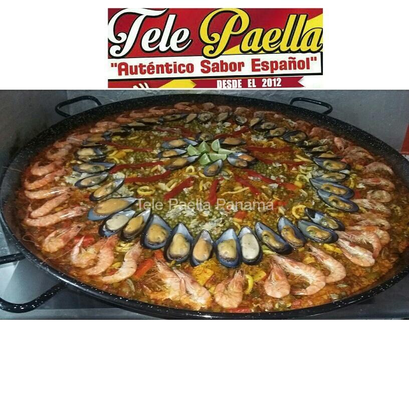 Paella en Panamá