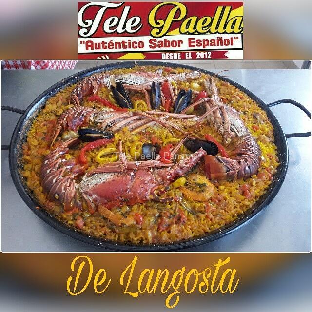 Paella de Langosta